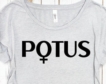 Female Symbol POTUS Political Shirt, Women's Style