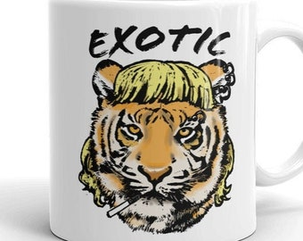 Tiger King Coffee Mug, Here Kitty Kitty mug