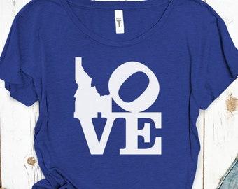 I Love Idaho Women's Shirt
