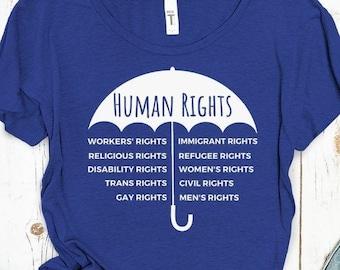 Human Rights Cover Us All (Umbrella Design)