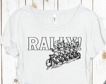 Vintage Rally Print - Celebrating the first bicycling women