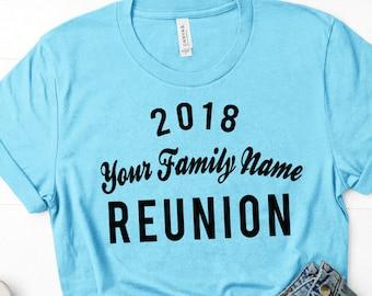 Custom Family Reunion shirts (Wholesale only, 10 shirts minimum)