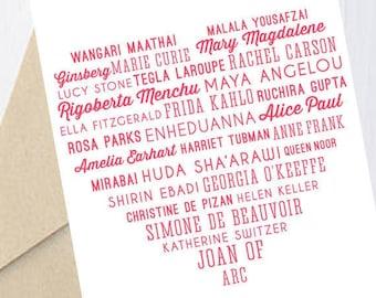 Valentine's Day Card: Phenomenal Woman (Maya Angelou tribute)