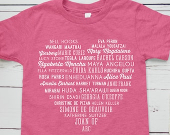Phenomenal Women Feminist Kids Shirt (Maya Angelou Tribute, Galentine's Day Shirt)
