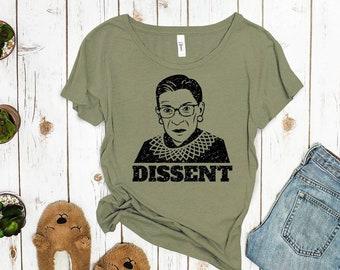 """Ruth Bader Ginsburg """"Dissent"""" Shirt"""