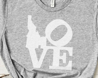 I Love Idaho Unisex T-Shirt