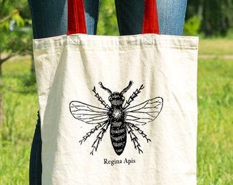 Queen Bee Feminist Tote Bag