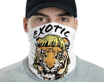 Tiger King Neck Gaiter