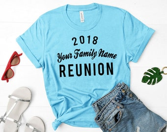 Custom Family Reunion shirts (Wholesale only, 10 shirts minimum)