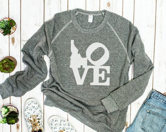 I Love Idaho Sweatshirt