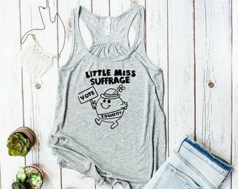 Little Miss Suffrage Tank Top