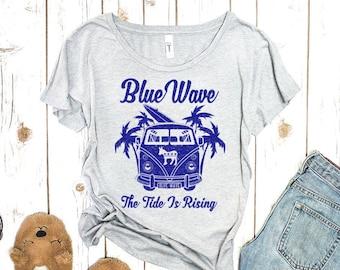 Blue Wave 2020 Women's Political Tee