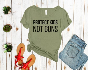 Protect Kids Not Guns Shirt