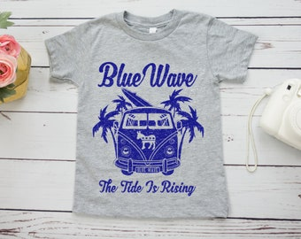 Blue Wave 2020 Kids Shirt