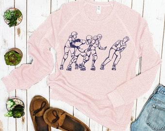 Roller Derby Sweatshirt: End White Supremacy