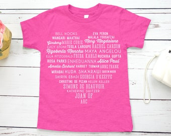 Phenomenal Women Feminist Kids Shirt (Maya Angelou Tribute, Galentine's Day Shirt)