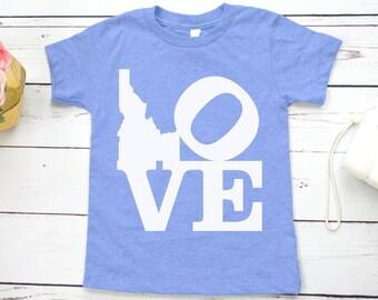I Love Idaho Kids' Shirt
