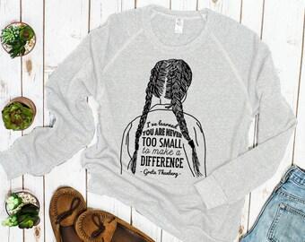Greta Thunberg Inspirational Sweatshirt