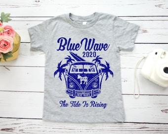 Blue Wave 2020 Kids Shirt