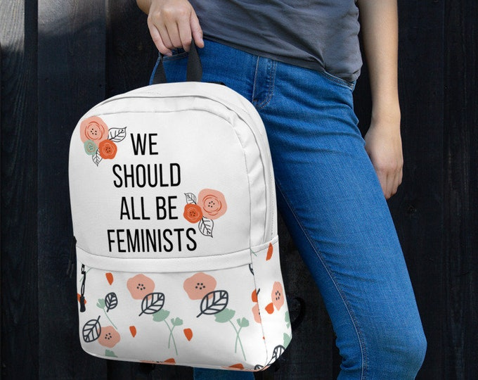 Featured listing image: We Should All Be Feminists Backpack