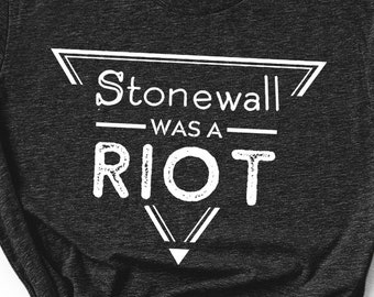 'Stonewall was a Riot' Unisex T-shirt