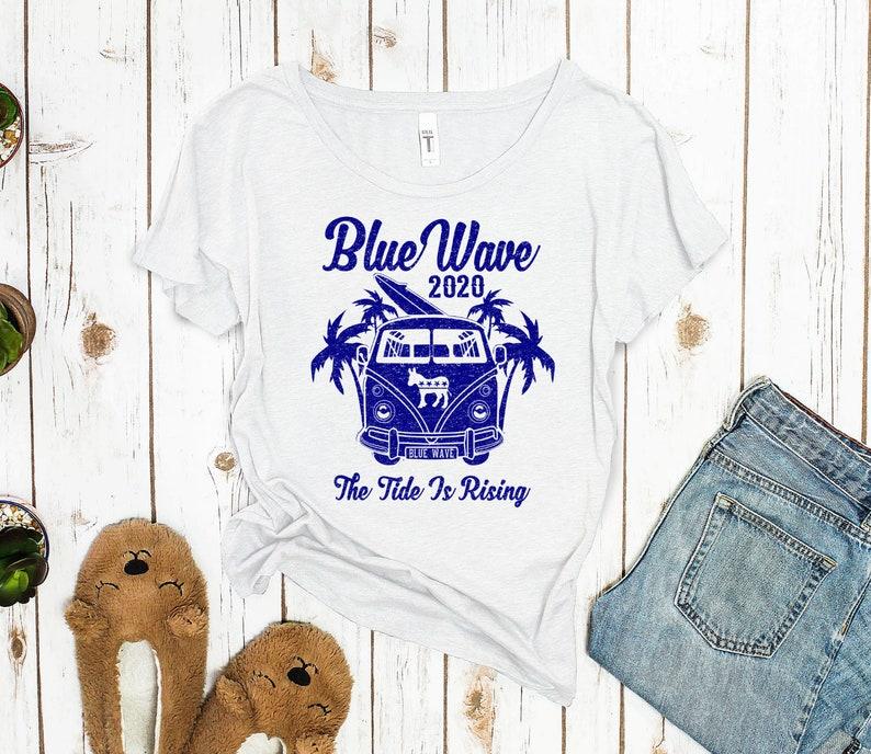 cbfc2eeb Blue Wave 2020 liberal tshirt political shirt vote shirt | Etsy