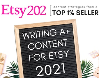 Marketing strategies for Etsy sellers Copywriting blogging for your Etsy business sellers guide Etsy success sell on Etsy.com tutorial guide