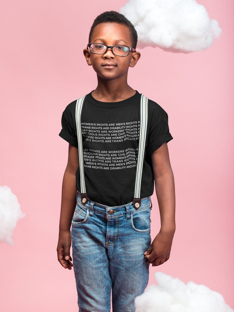 girl power shirt toddler gift toddler: Boys Rule AND Girls Rule back to school little girl feminist kid shirt Kids Shirt boy clothes