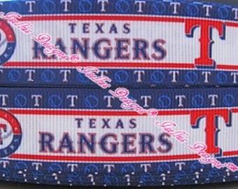 Texas Rangers Ribbon