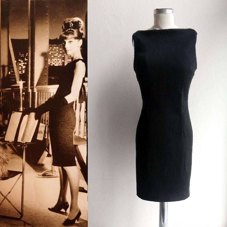 3b2f332d Little Black Dress/ Audrey Hepburn Style/ LBD/ Pencil dress/ | Etsy
