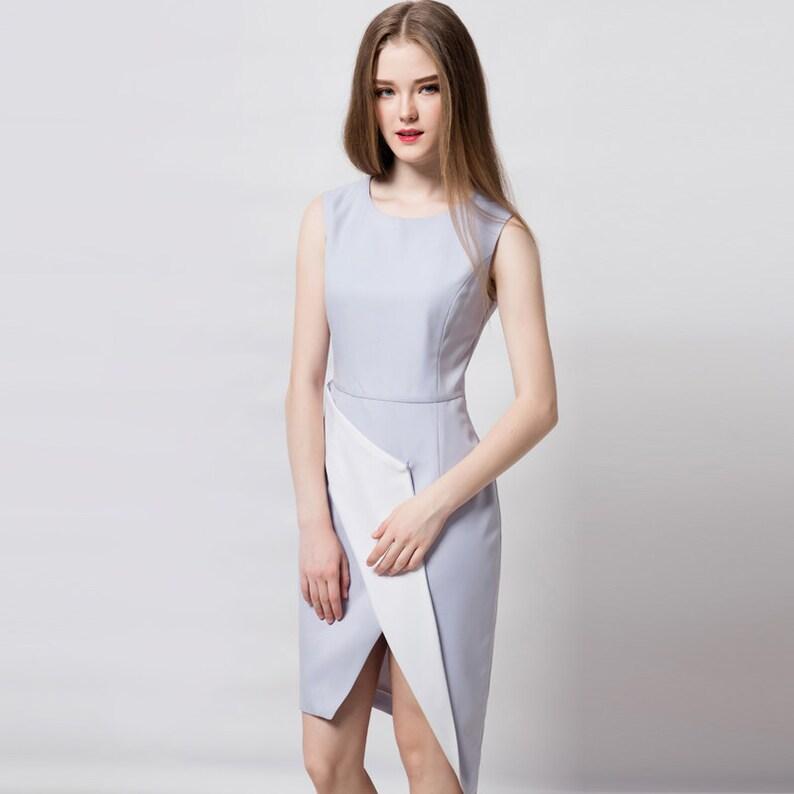 Arbeiten Asymmetrische Arbeiten DressEtsy Kleid Modernes Asymmetrische DressEtsy Modernes Modernes Arbeiten Kleid Asymmetrische Kleid wOPTXZulki