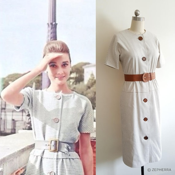 Audrey Hepburn Kleid Fruhstuck Bei Tiffany Holly Golightly Etsy