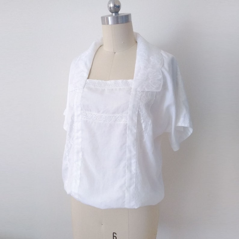 Edwardian Blouses |  Lace Blouses, Sweaters, Vests     Read the full title    Downton Abbey inspired blouse/ Lady Mary blouse/ Edwardian blouse/ vintage blouse/ Lady Mary white blouse/ Downton costume/ 1920s blouse $138.23 AT vintagedancer.com