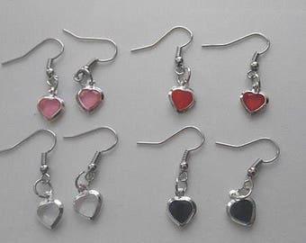 Heart Earrings / Star Earrings