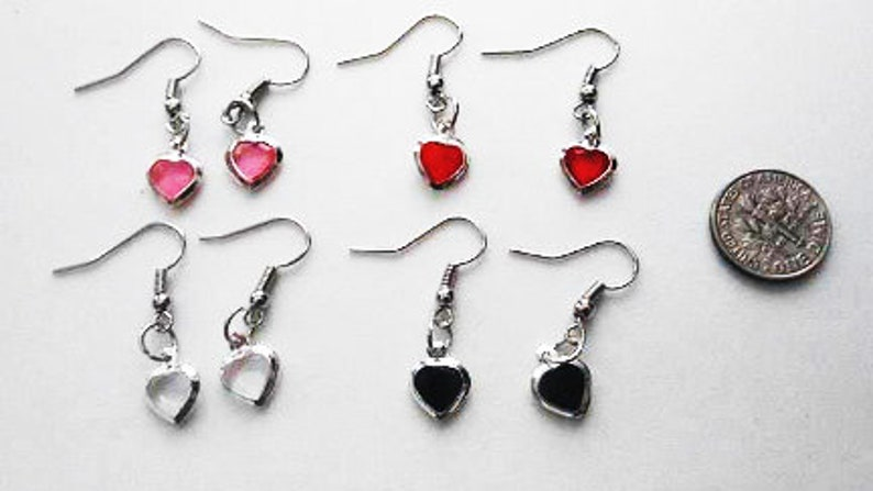Heart Earrings and Star Earrings image 0