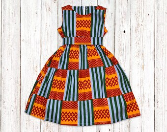 5085b81df Size 6, Girls African Kente Dress