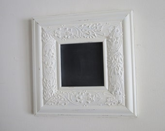 Wood Frame with Chalkboard Center