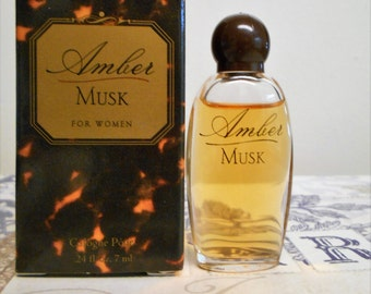 Amber Musk by Shiara miniature cologne pour 7 ml / 0.24 fl oz, new in box.