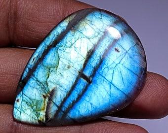 213.85 CTS 7 Pcs Lot100/% Real Labradorite Cabochon Blue fire Blue Flashy Natural Labradorite,Black Rainbow,Gem Stone,Ring pendent,Jewellery