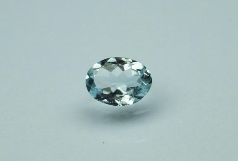 Aquamarine 6x4mm to 8x6mm Cabochon Oval Loose Gemstones w// Multi-Qty Options