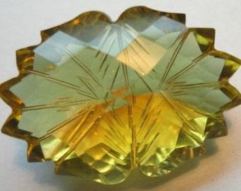 28 carat Fancy Carved cut beer quartz, Natural Gemstone