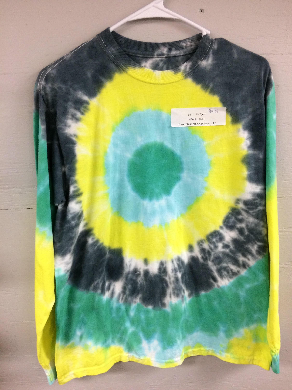 e9ef35115 Black And Yellow Tie Dye T Shirts - DREAMWORKS