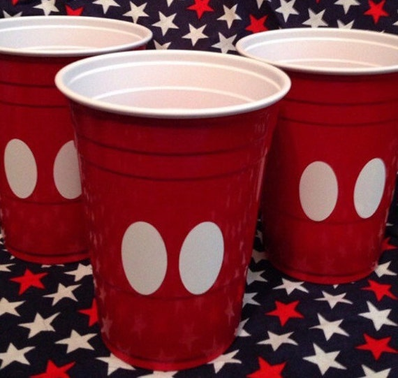 diy stickers for mickey cups etsy