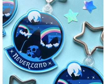 Neverland Keyring
