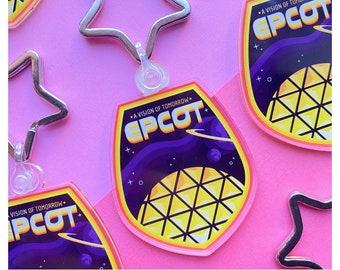 EPCOT Inspired Keyring
