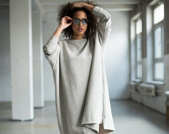 Fair Trade Tunic Tranquilo Gray
