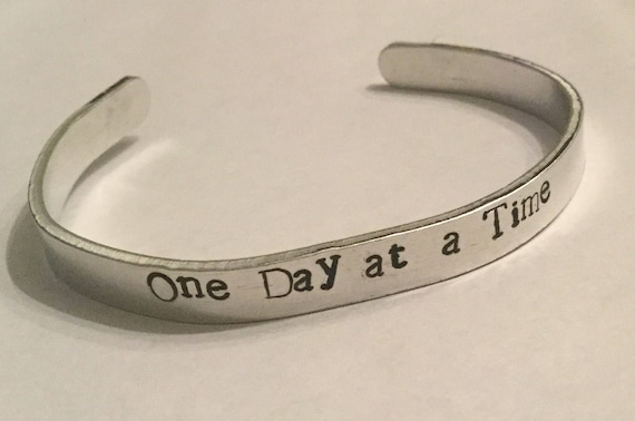 Cuff Bracelet Hand Stamped Gifts For Her Accessories