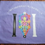 Tarot Cloth or Altar Cloth - Kabbalah Tree of Life Tarot Cloth- Designed by Wendy Wilson of Magic in Your Living Room
