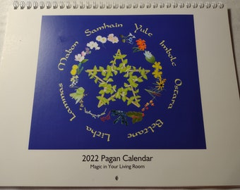 Calendar - 2022 Pagan and Wiccan Calendar from Magic in Your Living Room