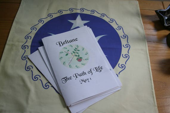 Ritual Booklet - The Path of Life, A Ready-to-Use Wicca or Pagan Ritual  Program for Beltane (Mayday) on the Wheel of the Year